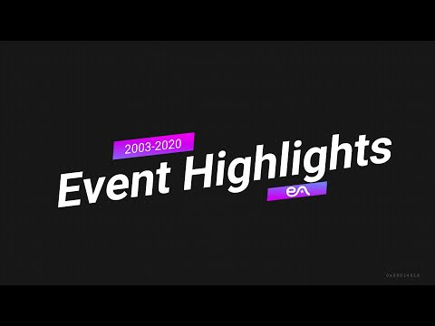 Entertaining Asia Event Highlights, 2003-2020