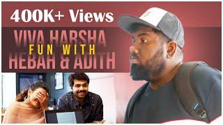Viva Harsha Fun with Hebah Patel & Adith Arun - #24kisses   AyodhyaKumar Krishnamsetty