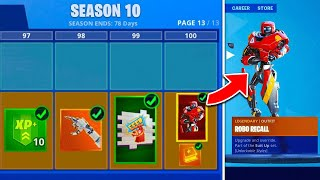 Fortnite Season 10 LEAKED! Battle Pass, Trailer - EVERYTHING TO KNOW!