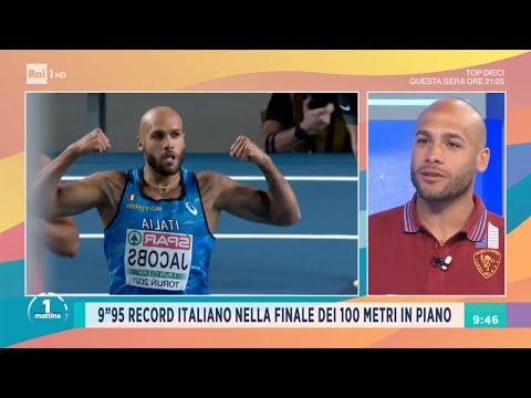 L'uomo più veloce d'Italia - Unomattina - 21/05/2021
