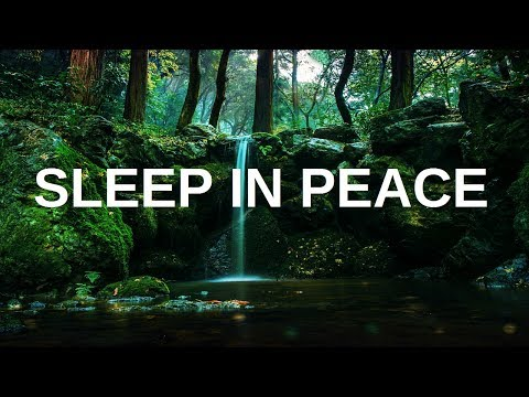 Sleep in Peace Guided Meditation for sleeping (Spoken Hypnosis Meditation with music for insomnia)