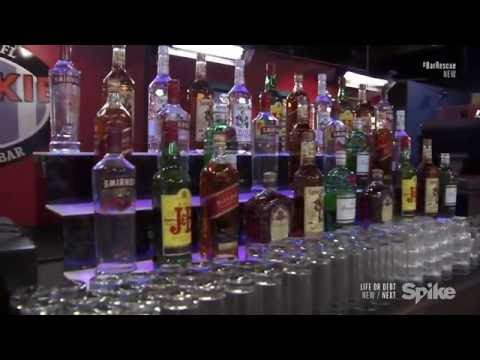 LED Bottle display Shelves Featured on Bar Rescue