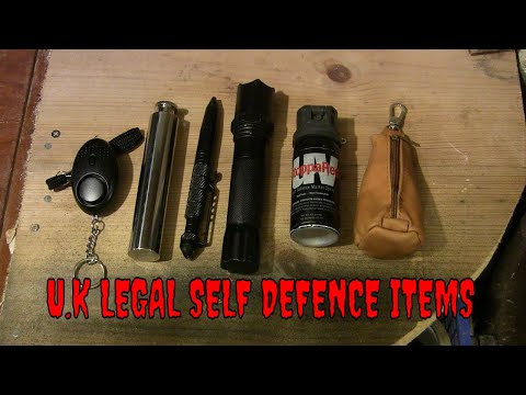 UK Legal Self Defence Items