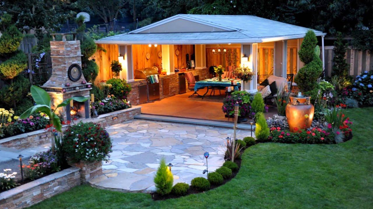 Dise o de jardines modernos hd 3d best garden design - Jardines exteriores de casas modernas ...