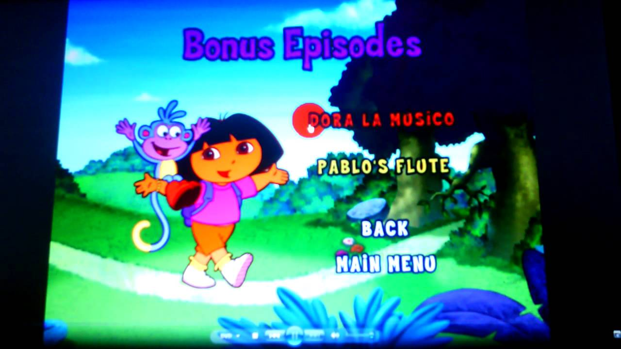 Dora the Explorer- Egg Hunt Menu Walkthrough - YouTube