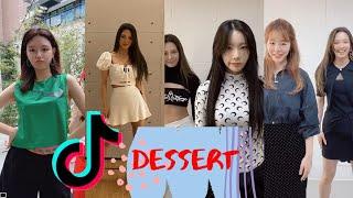 Hyoyeon - Dessert x SNSD, Taeyeon, Sunny, Sooyoung, and more Tiktok dance Challenge