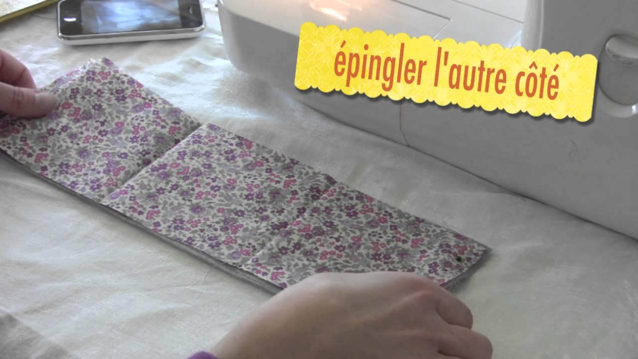 tutoriel ou comment fabriquer une housse de t l phone youtube. Black Bedroom Furniture Sets. Home Design Ideas