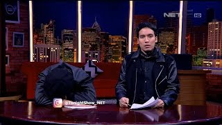 Desta Lagi Asik Bacain Berita, Vincent Malah Ketiduran - Tonight Show