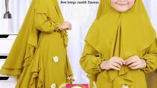 Syar'i kids - baju muslim anak - 006 series - best original - suit muslim