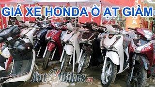 Giá xe máy Honda ồ ạt giảm trước World Cup 2018. Nghịch lý đội giá vẫn bán chạy