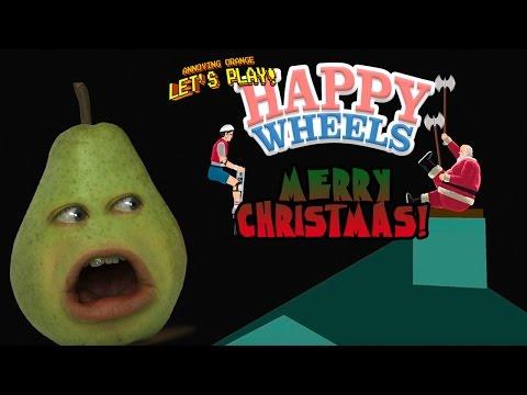 Pear Plays - Merry Christmas HAPPY WHEELS