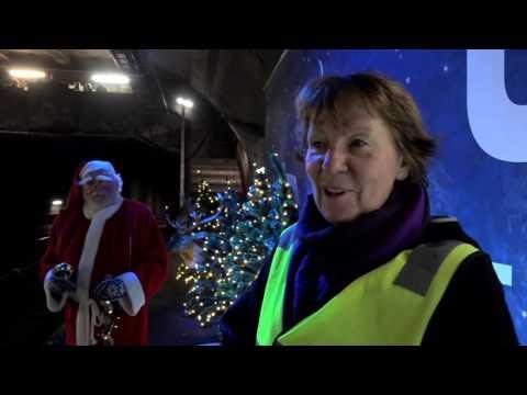 Julehilsen på Valkyrie