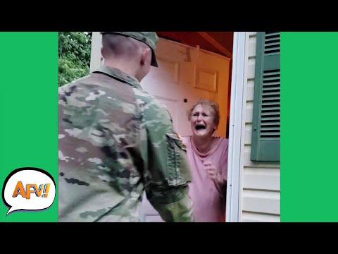 The BEST Surprises AREN'T FAILS! 😍 | Funny Heartwarming Moments | AFV 2021