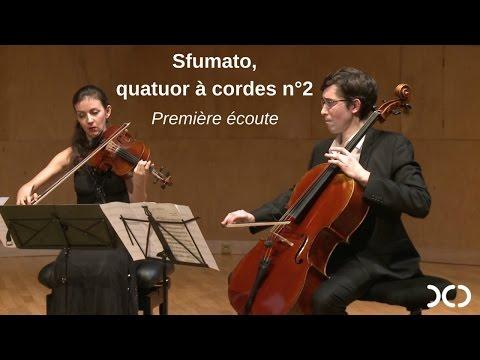 Sfumato, création décryptée à la Salle Cortot par son compositeur F. Touchard