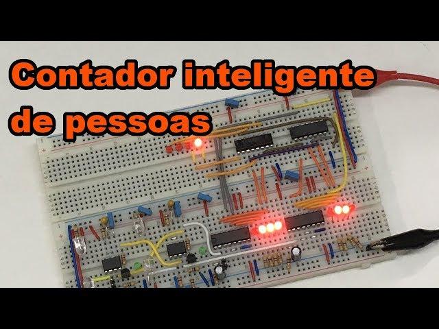 CONTADOR INTELIGENTE DE PESSOAS | Conheça Eletrônica #125