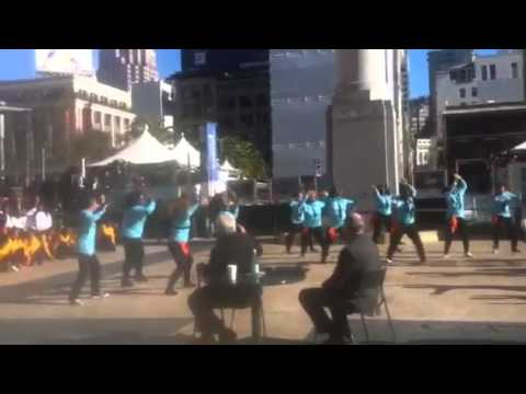 par8o flashmob at JP Morgan 2015 (Part 2)