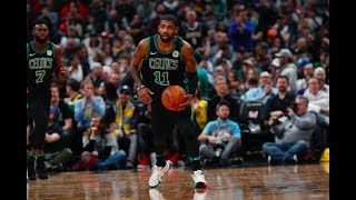 Kyrie Irving, Terry Rozier hold finishing competition after practice