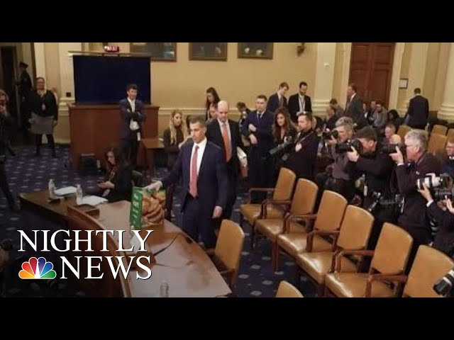 Democratic And Republican Counsels Make Closing Arguments On Impeachment | NBC Nightly News