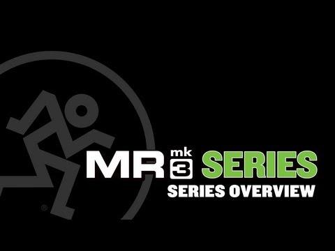 Mackie MRmk3 Series Powered Studio Monitors - Series Overview