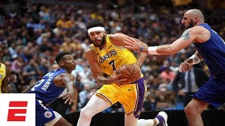 LeBron rests, Lakers fall to Clippers in preseason battle for LA   NBA Preseason Highlights