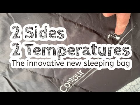 video Outwell Contour Sleeping Bag – A bag of two temperatures