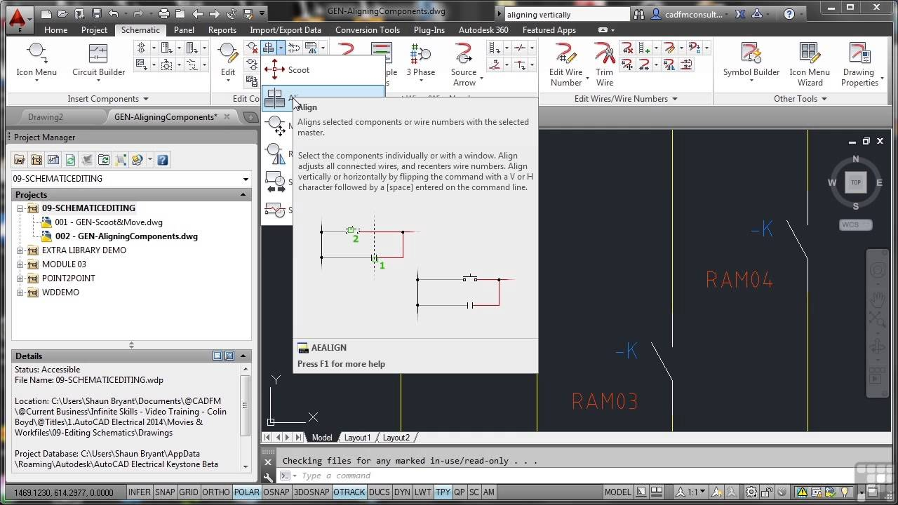 Buy infinite skills learning autodesk autocad electrical 2014