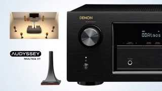 Denon AVR-X2200W 7 2 Channel Bluetooth & WiFi A/V Receiver