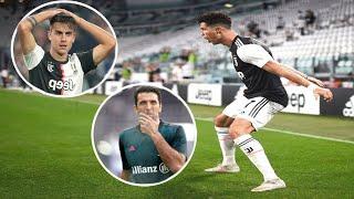 CRAZY Teammate Reactions To C. Ronaldo GOALS |HD|