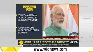 Budget 2019: It is a people's Budget says PM Narendra Modi