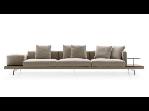 Piero Lissoni's Dock sofa system for B&B Italia | Design | Dezeen