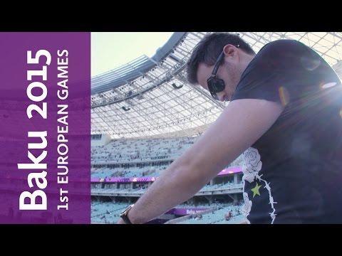 Gareth Emery plays the Baku 2015 Closing Ceremony