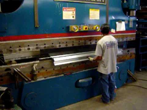Cincinnati 175 Ton Press Brake 5 Step Program