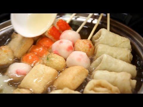 Fish cake soup (Eomukguk: 어묵국)