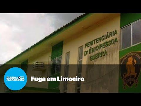 Após explosão de muro, presos fogem da Penitenciária de Limoeiro