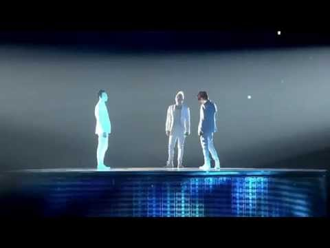 JYJ - Rainy Blue (2013 Concert in Tokyo Dome) [eng + romaji + 日本語 + karaoke sub]