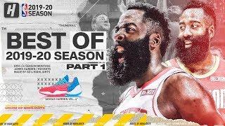 James Harden BEST Rockets Highlights from 2019-20 NBA Season! CRAZY Step Back Plays! (Part 1)
