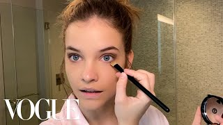 Barbara Palvin's Everyday Beauty Routine   Beauty Secrets   Vogue