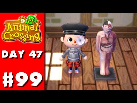Animal Crossing: New Leaf - Part 99 - Anatomical Model (Nintendo 3DS Gameplay Walkthrough Day 47) - Smashpipe Games