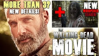 The Walking Dead - More Than 3 Movies?  & New Whisperers Teaser Trailer!