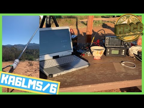 Running KA6LMS/6 From A Remote Ham Radio Escape!