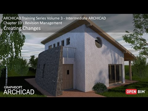 Creating Changes - ARCHICAD Training Series 3 – 51/52