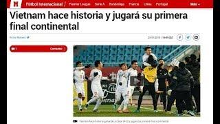 Bất ngờ lớn khi Báo thể thao hàng đầu Tây Ban Nha lên trang bìa chiến tích U23 Việt Nam, Họ nói gì?