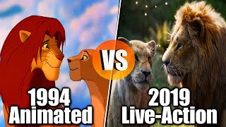 The Lion King (1994 vs 2019) - Song Comparison