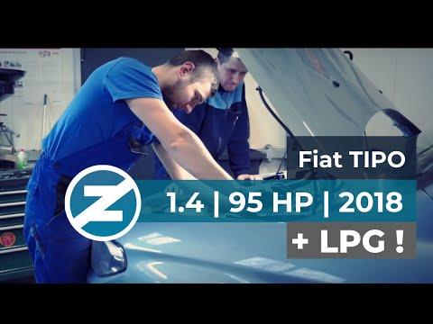 Fiat Tipo | 1.4 | 95 KM | 2018 | montaż instalacji LPG Zenit Autogas Systems