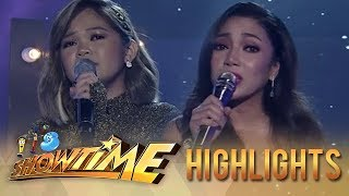 Janine Berdin and Jona serenade the Madlang People with their performance | It's Showtime