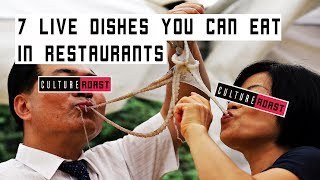 7 Live Food Dishes You Can Eat In Restaurants