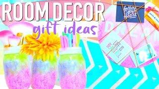 DIY BRIGHT COLORFUL ROOM DECOR GIFT IDEAS | Paris & Roxy