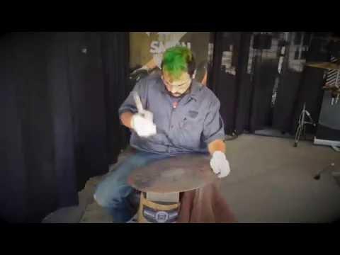 Hand Hammering at GearFest 2016