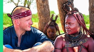RARE Tribal Food of Namibia!! Himba Life and Food!!
