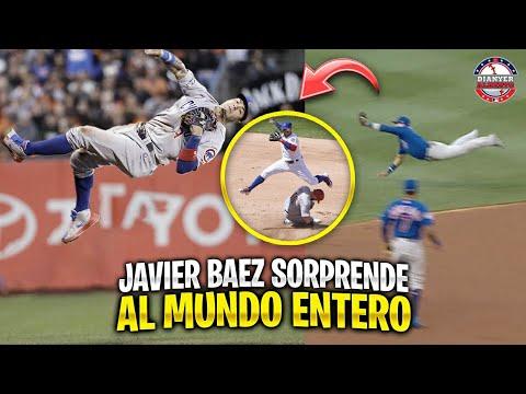 8 Veces que JAVIER BAEZ SORPRENDIÓ al MUNDO |  MLB